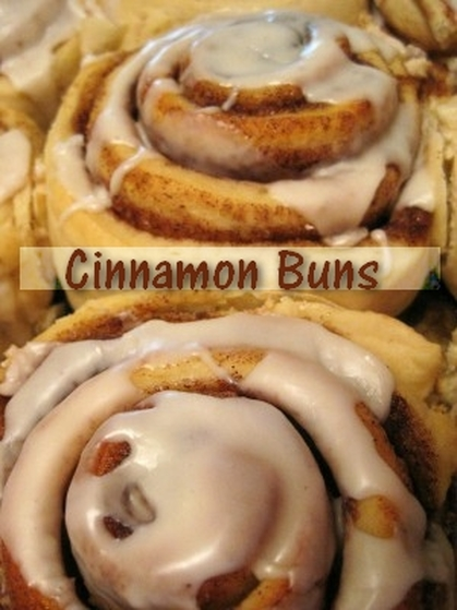 Recipe: Cinnamon Buns