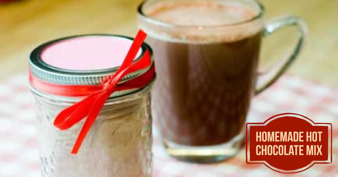 Frugal Fridays - Homemade Hot Chocolate Mix