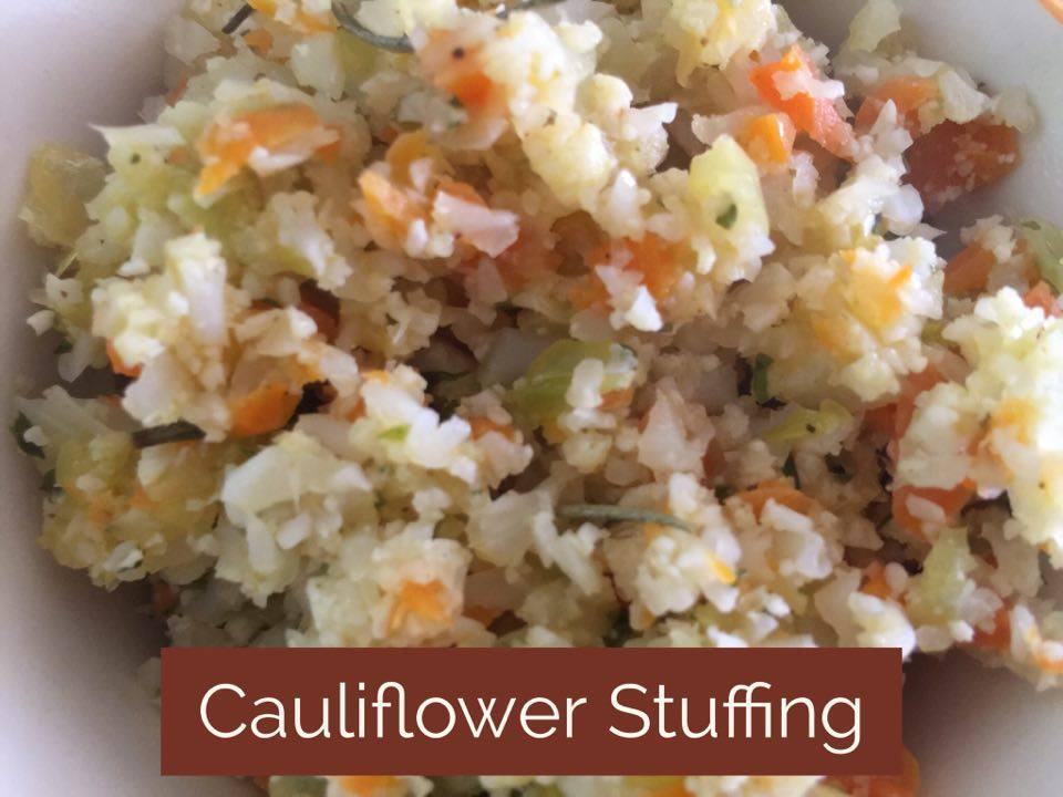 Recipe: Cauliflower Stuffing