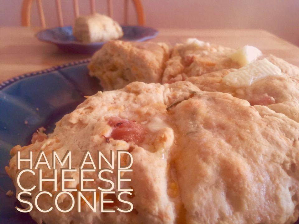 Recipe: Ham and Cheese Scones