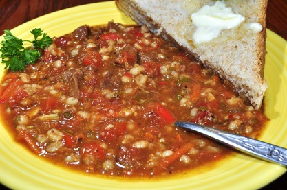 Recipe: Beef Barley Soup