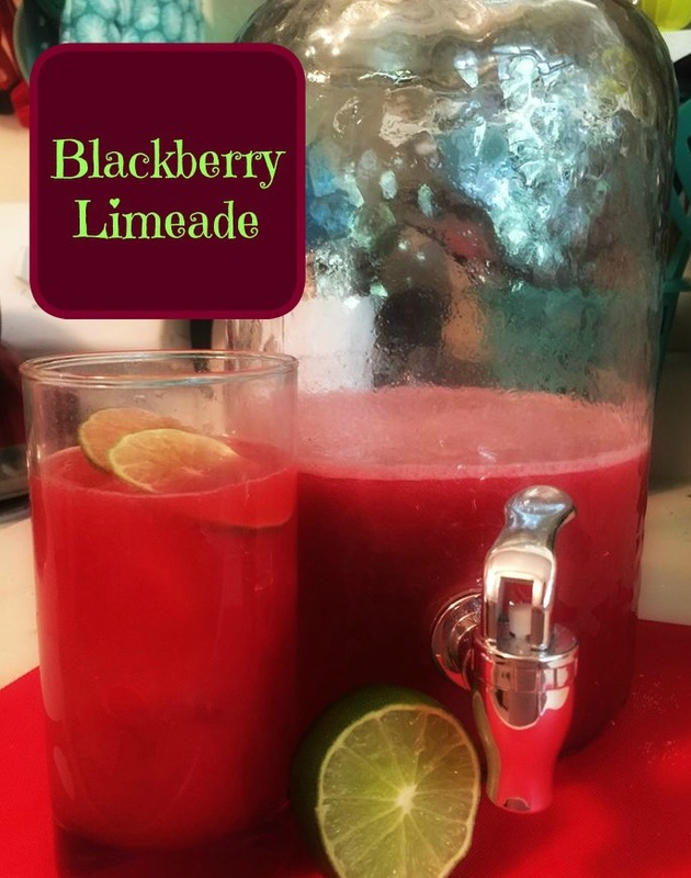 Recipe:  Blackberry Limeade