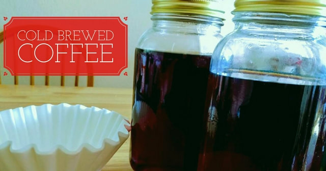 Frugal Fridays - DIY Cold Brew Coffee