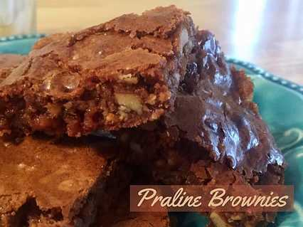 Recipe: Praline Brownies