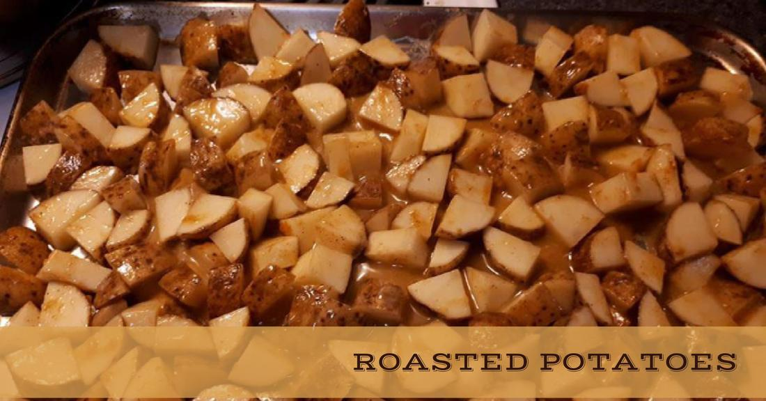 Recipe:  Oven Roasted Potatoes